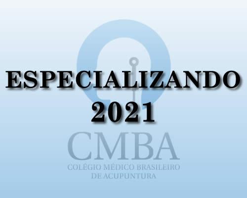 Especializando 2021